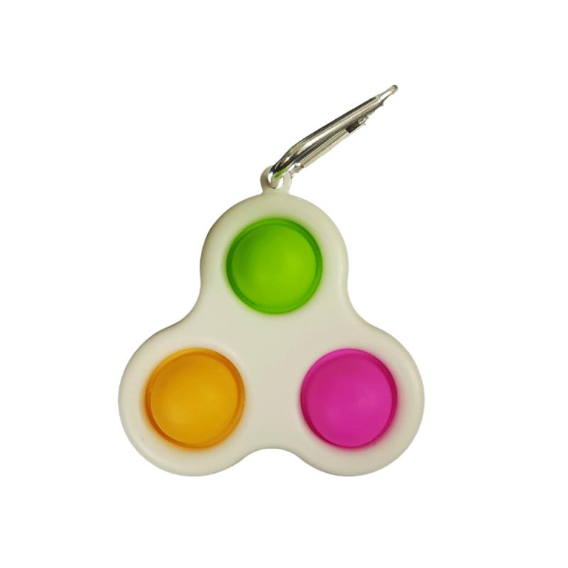 Chaveiro Poc-Pop Brinquedo Anti-Stress 1un - Mind Toys