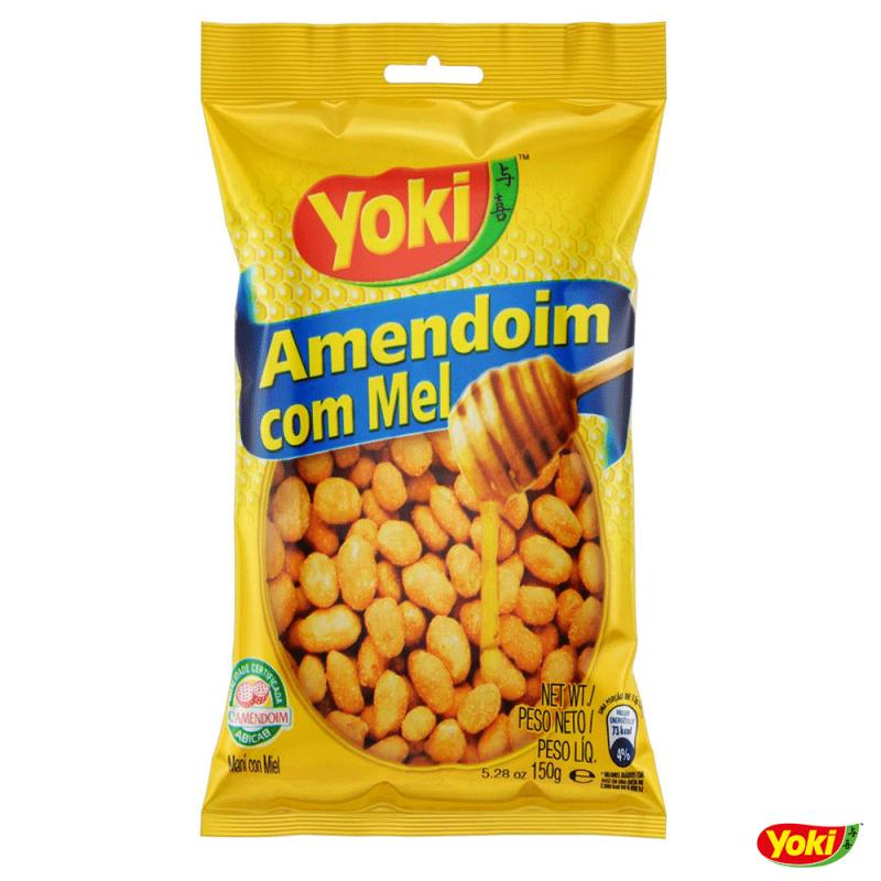 Amendoim com Mel 150g • Yoki