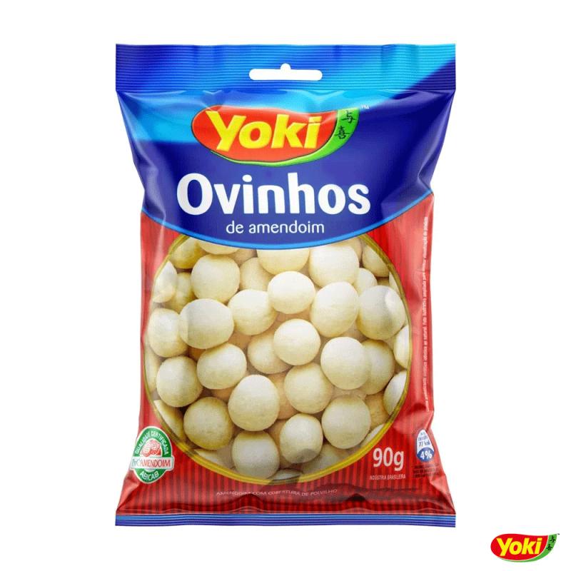 Ovinhos de Amendoim 90g • Yoki