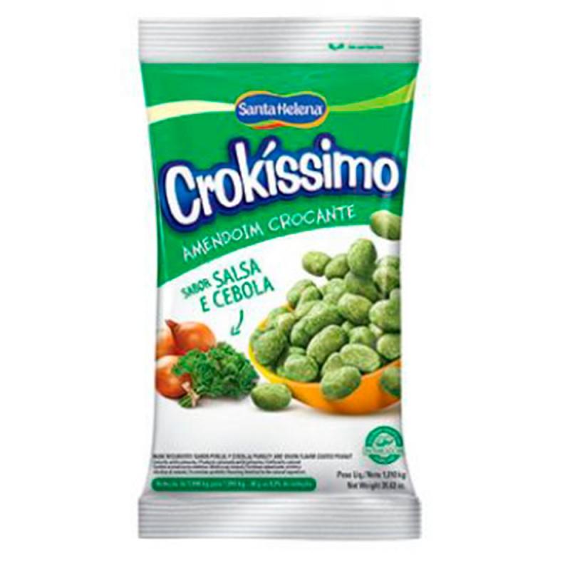 Amendoim Crocante • Sabor Salsa e Cebola • Crokissimo 1Kg