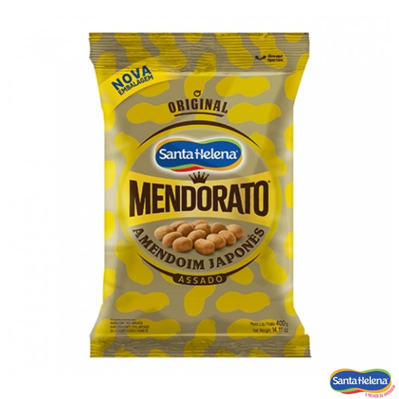 Amendoim Japonês Assado • Mendorato 400g • Santa Helena