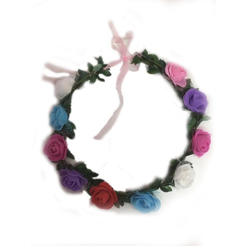 Coroa • Flores Coloridas • Carnaval