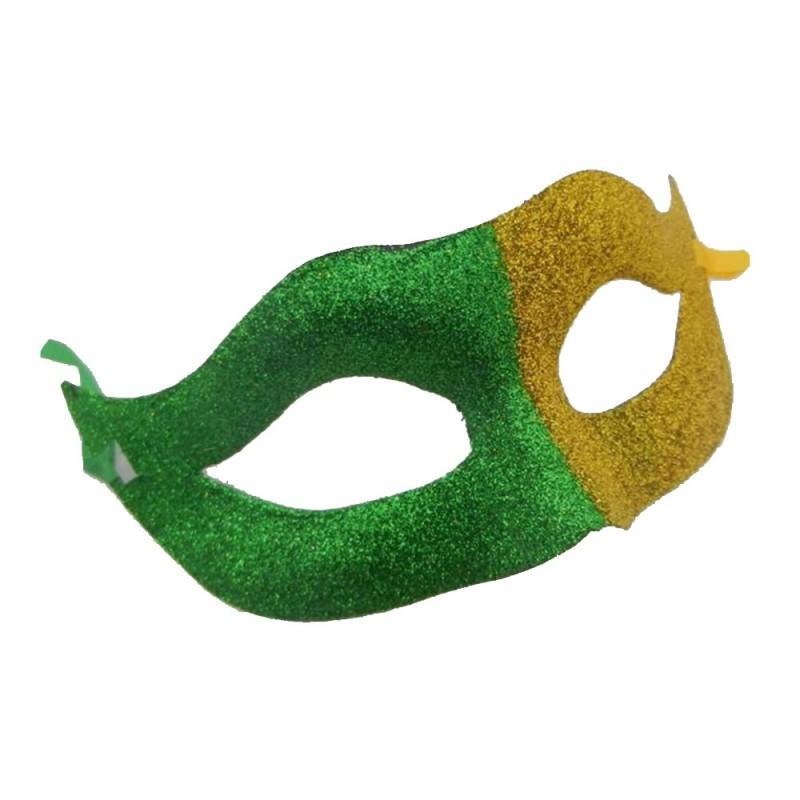 Máscara • Verde e Amarelo • Carnaval
