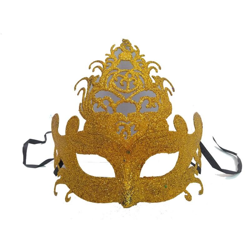 Máscara - Dourada • Baile • Carnaval