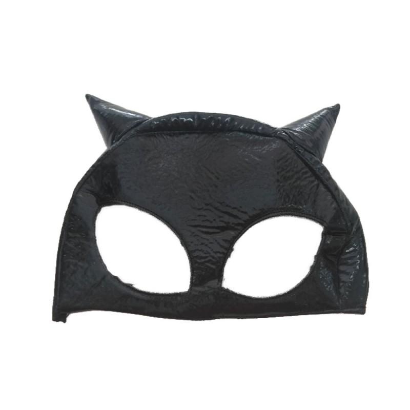 Máscara Gato Vinil • Carnaval