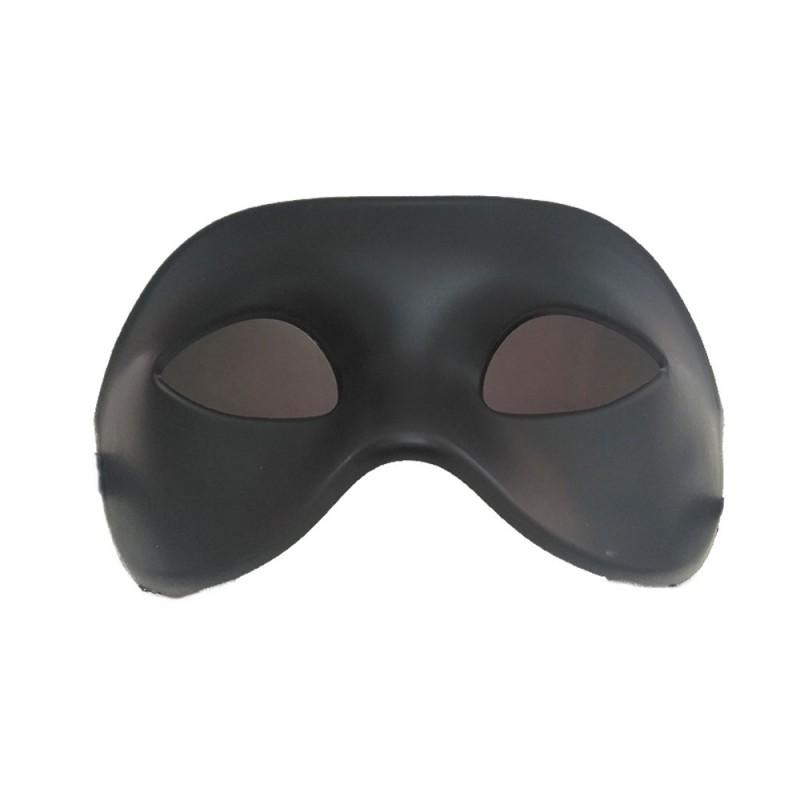 Máscara Simples • Preta • Carnaval