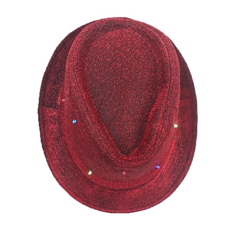 Chapéu Led • Vermelho • Carnaval