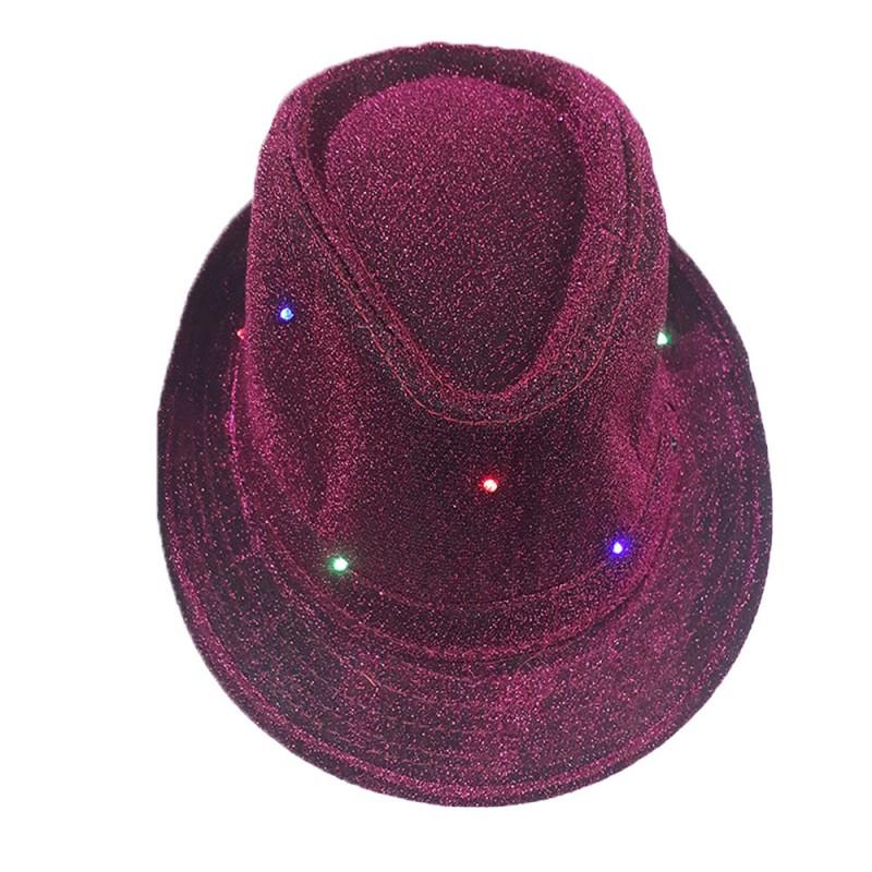 Chapéu Led • Rosa Pink • Carnaval