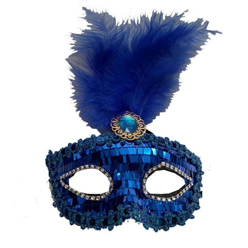 Máscara Luxo • Lantejoula • Carnaval