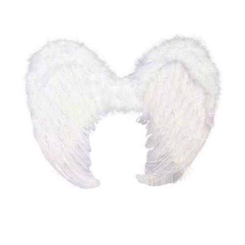 Asas de Anjo Branca • Fantasia • Carnaval