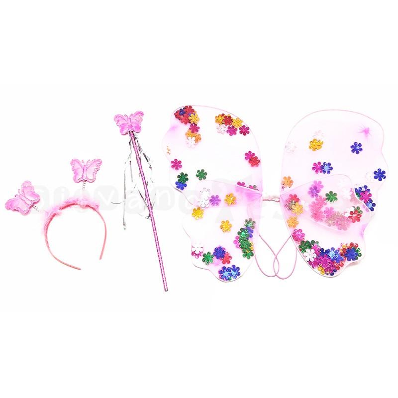 Kit Princesa Fada • Acessórios • Carnaval