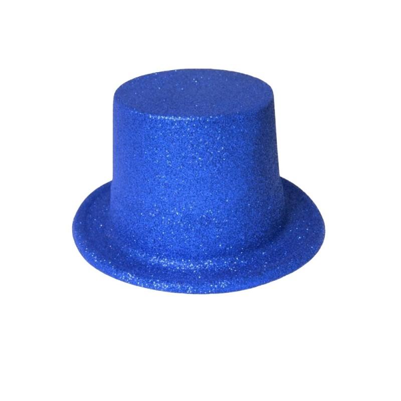 Cartola com Glitter • Azul