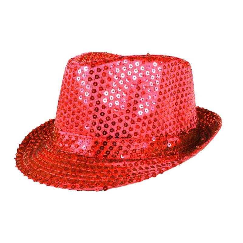 Chapéu com Lantejoula • Vermelho