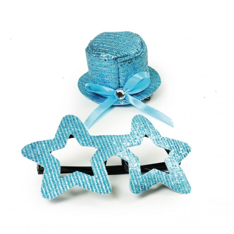 Kit Fantasia Estrela Azul • Carnaval
