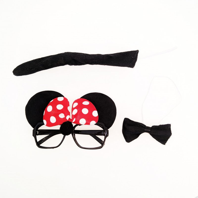 Kit Fantasia Minnie • Carnaval