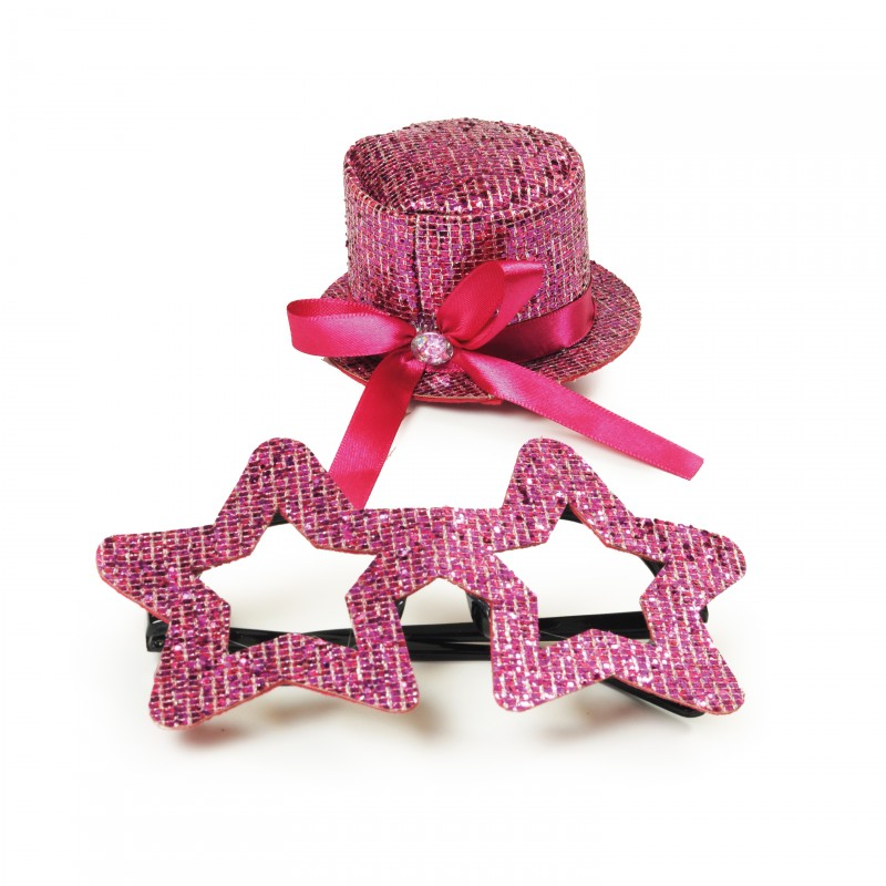 Kit Fantasia Estrela Pink • Carnaval