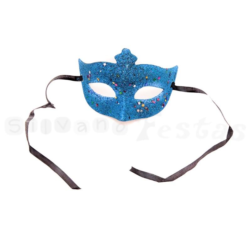 Máscara • Azul • Carnaval