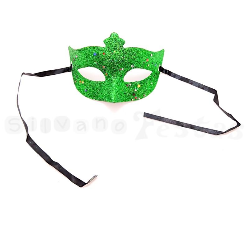 Máscara • Verde • Carnaval