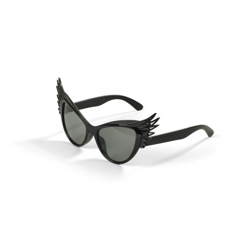 Óculos Escuro com Asinhas Pretas