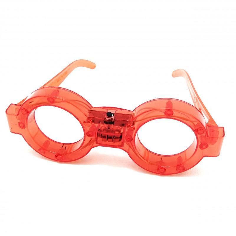 Óculos Led • Vermelho • Carnaval