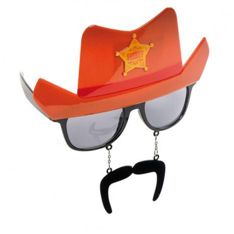 Óculos Sheriff com Bigode