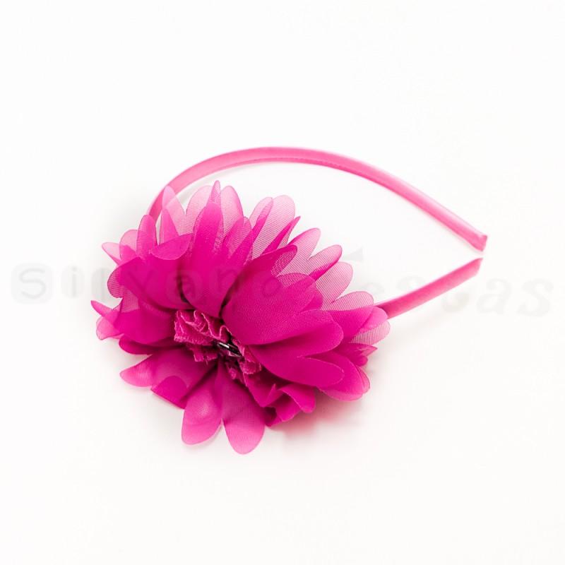 Tiara Flor Pink • Carnaval