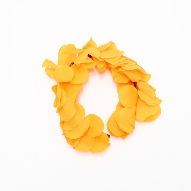 Tiara Havaiana de Flores • Laranja • Carnaval