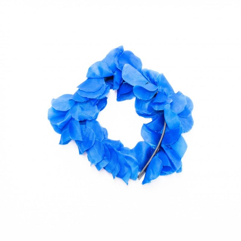 Tiara Havaiana de Flores • Azul • Carnaval