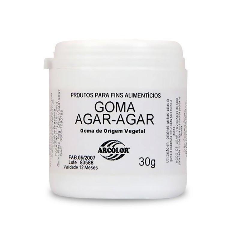 Goma Agar - Agar • Fins Alimenticios • 30g • Arcolor