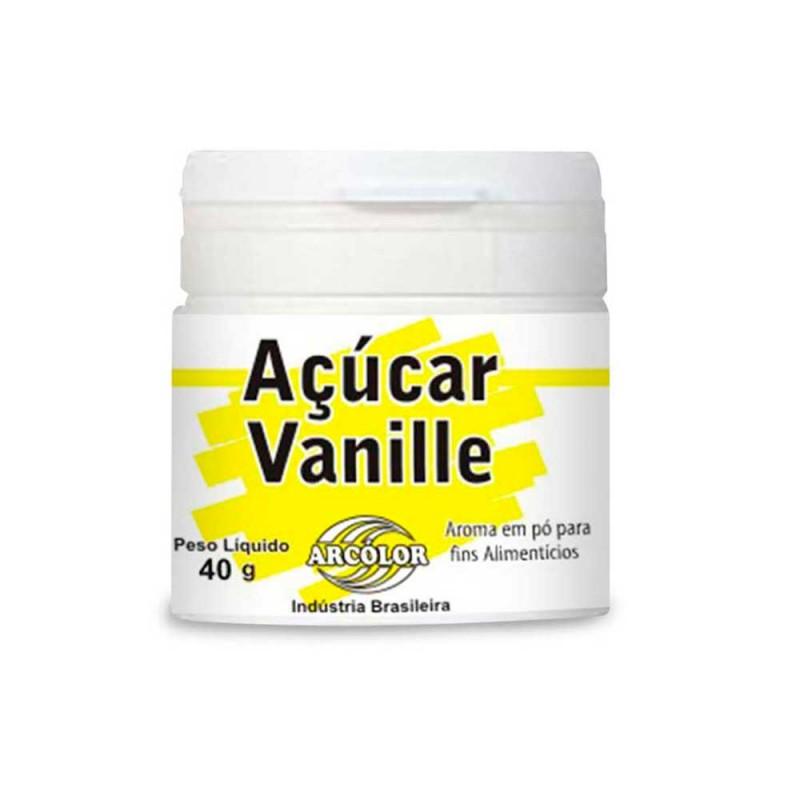 Açúcar Vanille • 40g • Arcolor