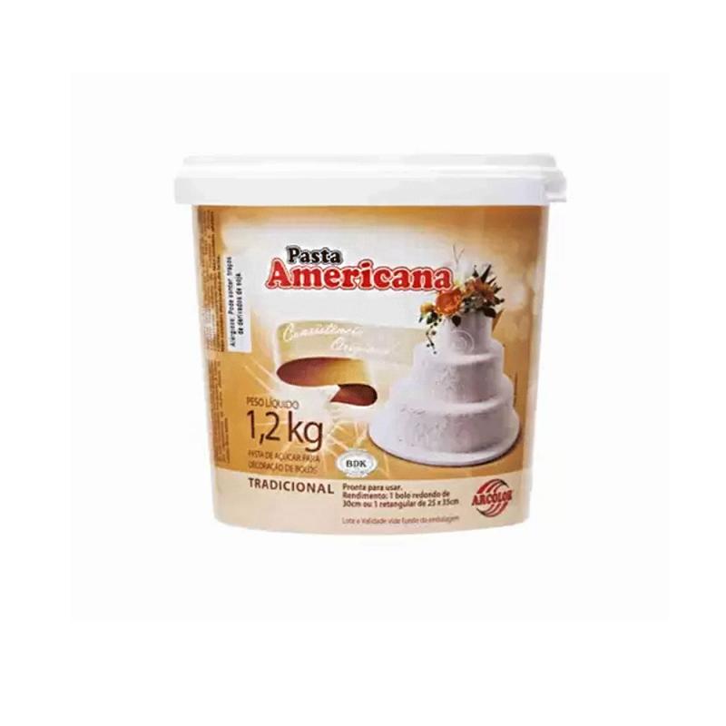 Pasta Americana • Sabor Tradicional • 1,2kg  Arcolor