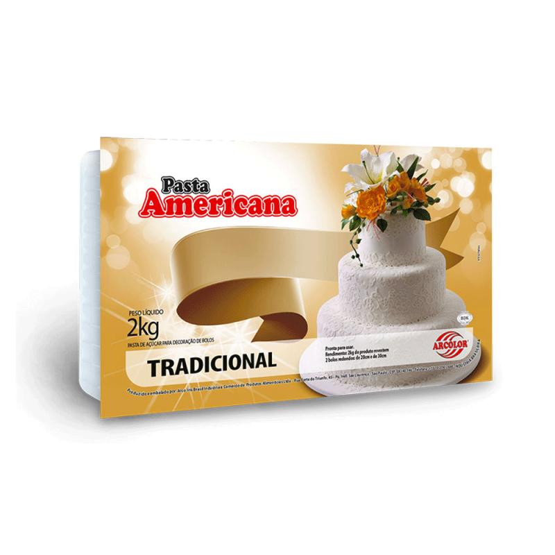 Pasta Americana • Sabor Tradicional • 2kg • Extra Macia  Arcolor