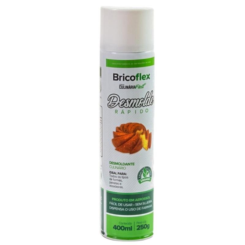 Spray Desmoldante Vegano • 400ml • Bricoflex