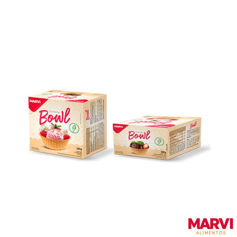 Bowl de Sorvete • Caixa 120g • Marvi