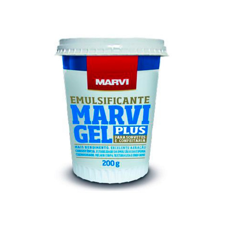 Emulsificante • Gel Plus • 200g • Marvi