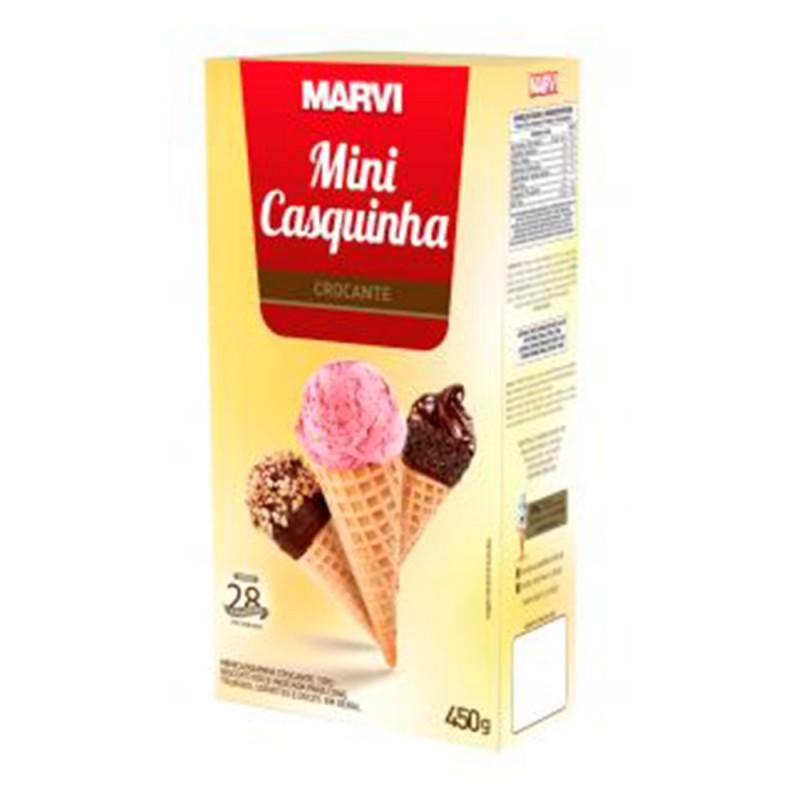 Mini Casquinha de Sorvete • Caixa 450g • Marvi