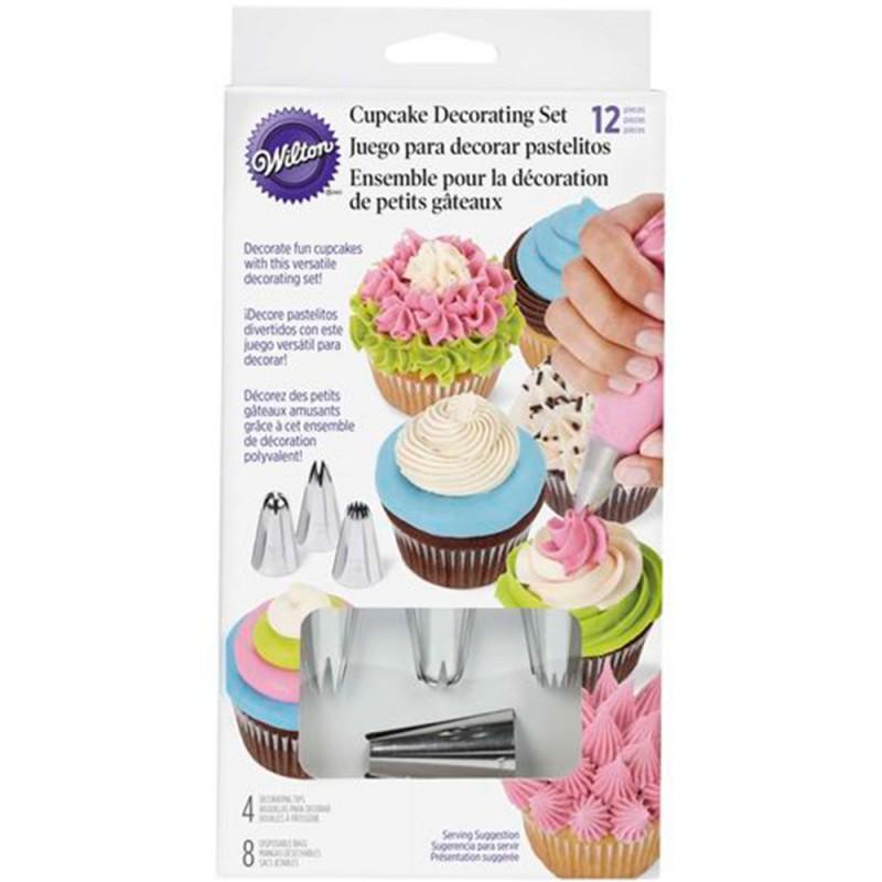Jogo de Decoração de Cupcakes • Wilton