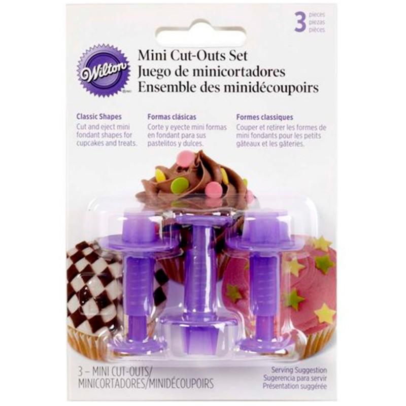 Kit de Mini Cortadores de Fondant • Wilton
