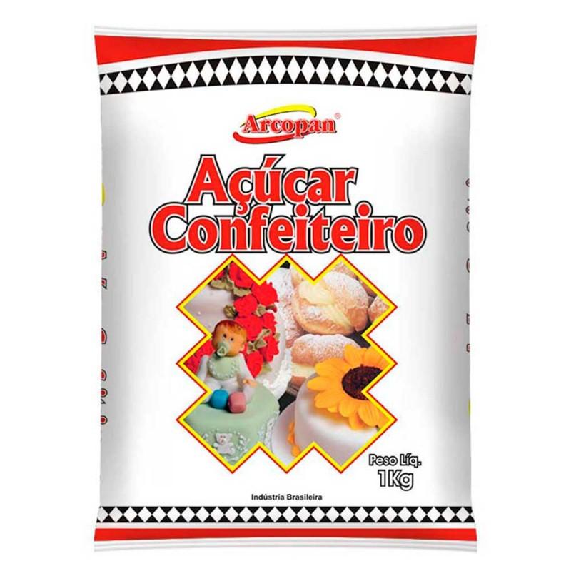 Açúcar de Confeiteiro • 1kg • Arcolor