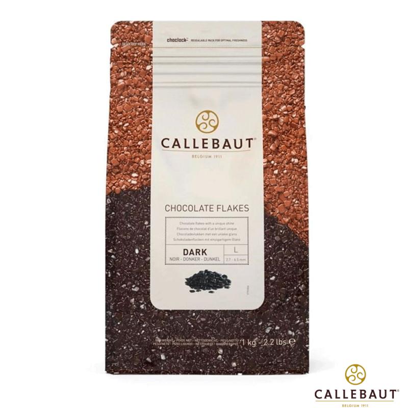 Chocolate Flakes • Amargo • L • 1kg • Callebaut