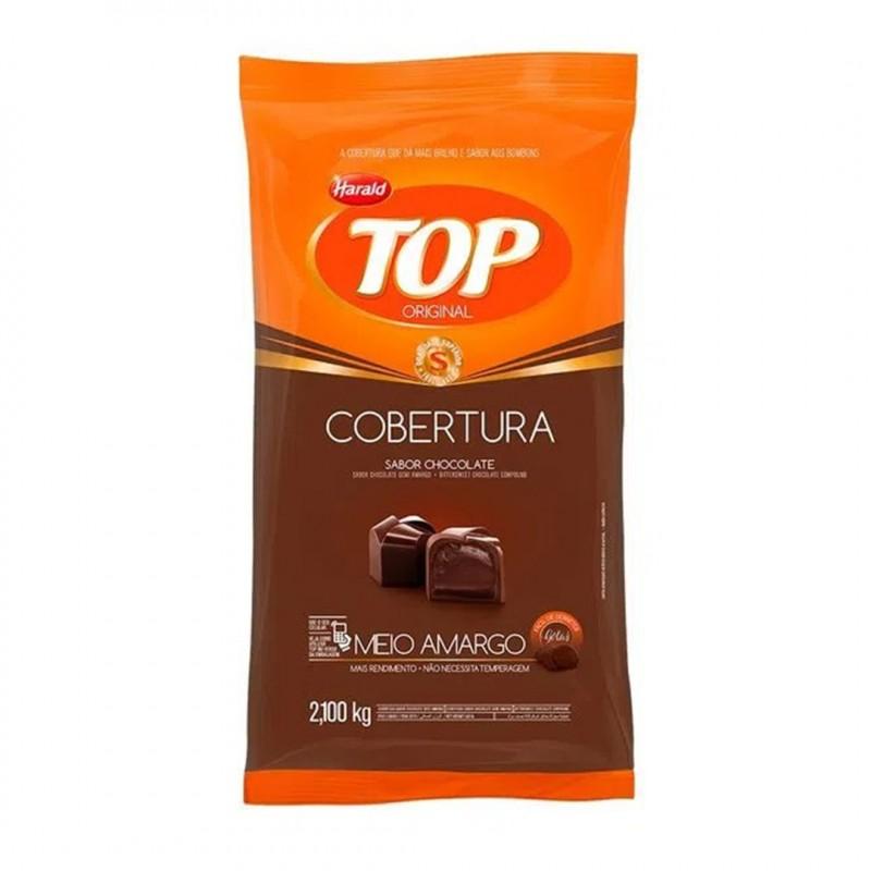 Cobertura Top • Meio Amargo • Gotas • 2,100kg • Harald