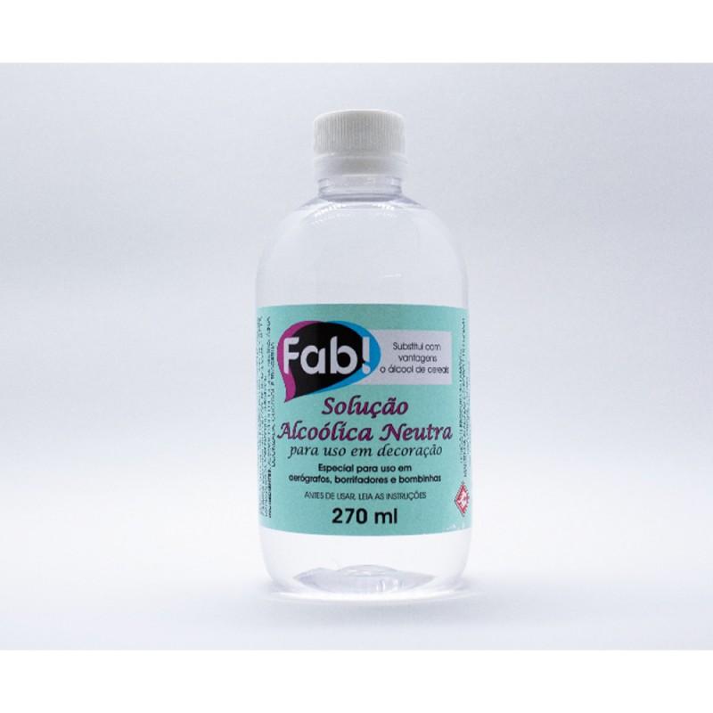 Solução Alcoólica Neutra • 270ml • Fab!