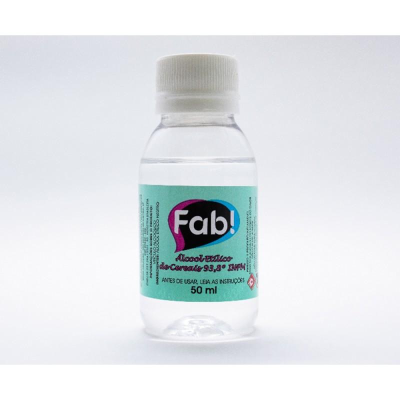 Solução Alcoólica Neutra • 50ml • Fab!
