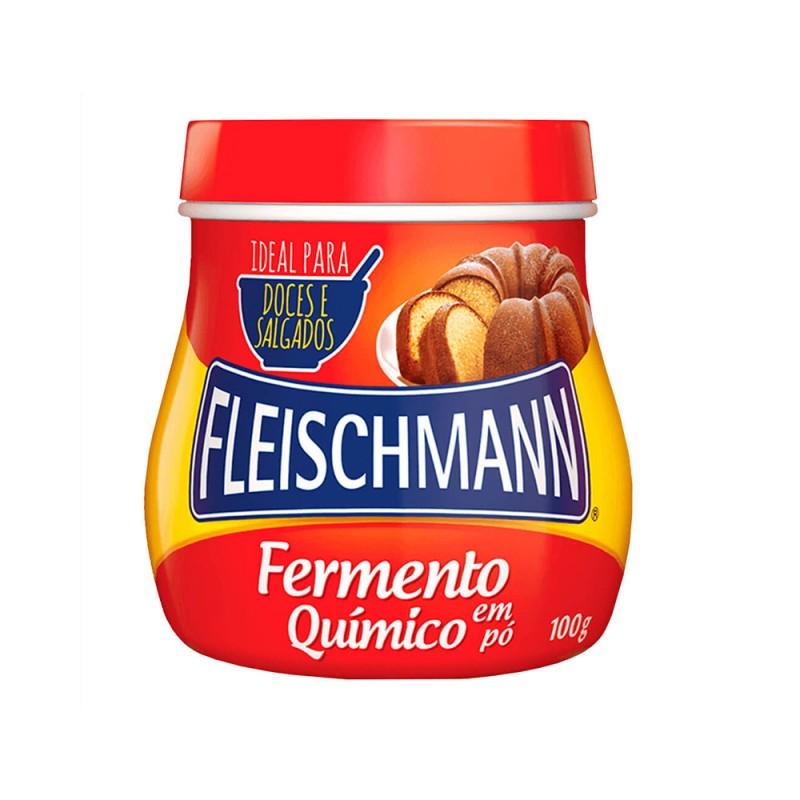 Fermento Químico • 100g • Fleischmann