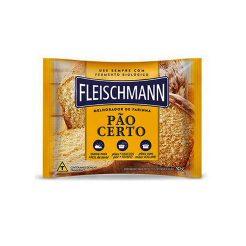 Melhorador de Farinha • Pão Certo • 10g • Fleischmann