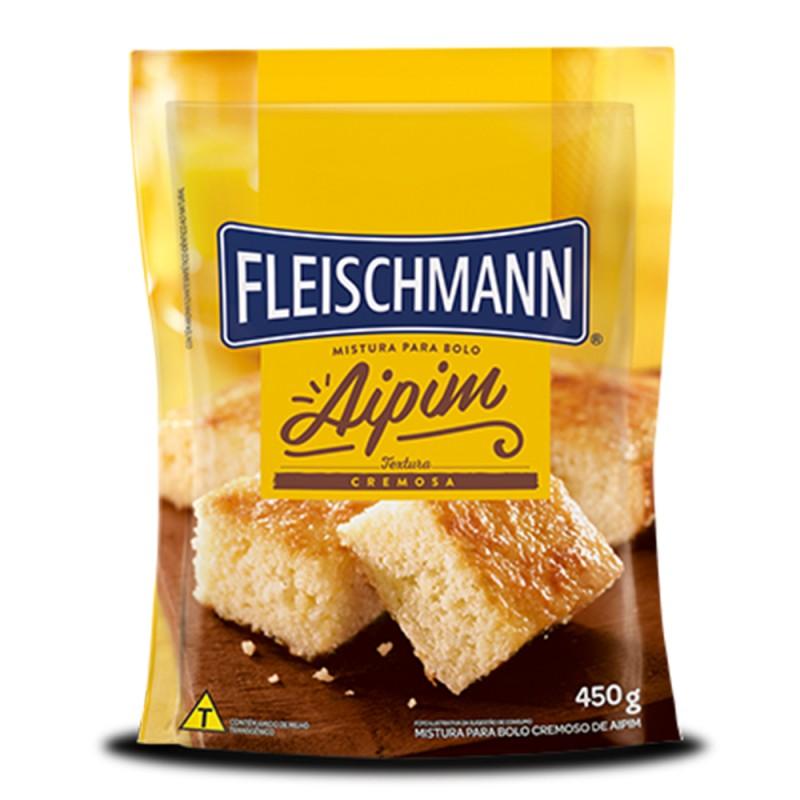 Mistura para Bolo • Aipim • 450g • Fleischmann