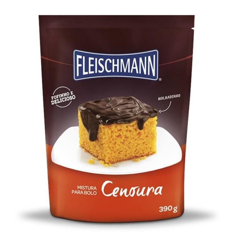 Mistura para Bolo • Cenoura • 390g • Fleischmann