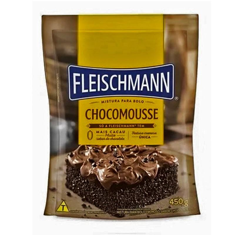 Mistura para Bolo • Chocomousse • 450g • Fleischmann