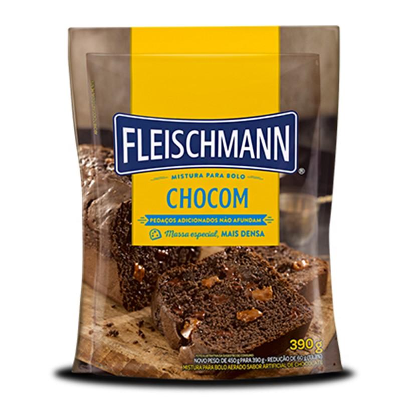 Mistura para Bolo • Chocom • 390g • Fleischmann