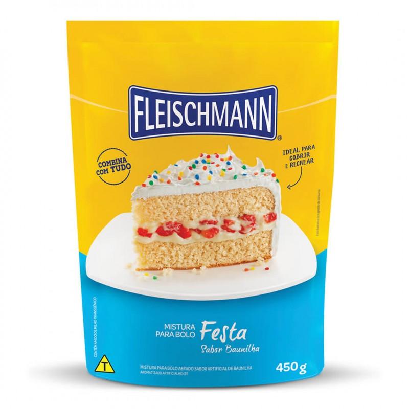 Mistura para Bolo • Festa • 450g • Fleischmann